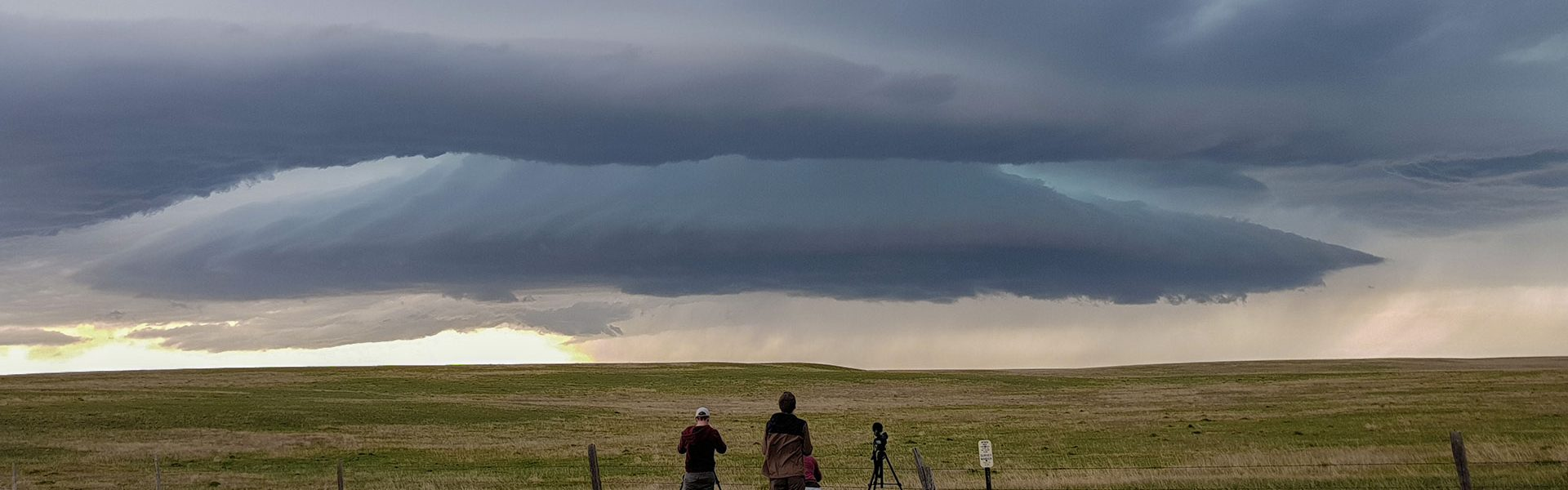 See Nature's Fury Team in Wyoming with Supercell